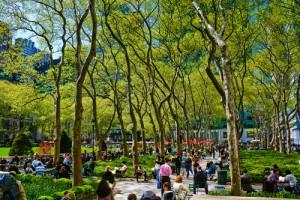 Byrant Park Springtime