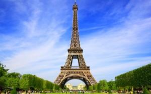 Torre Eiffel desde los jardines